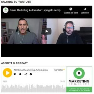 Marketing Semplice, intervista con Roberto Tarzia