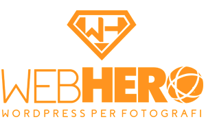 WebHero - Corso WordPress per fotografi