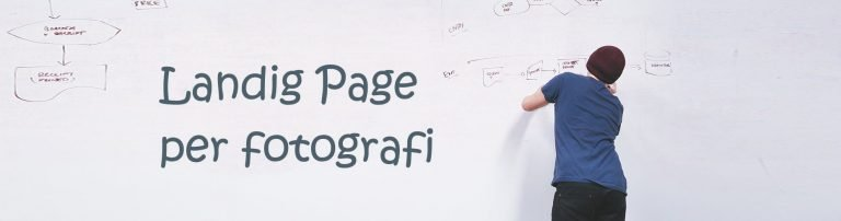 Landing Page per Fotografi
